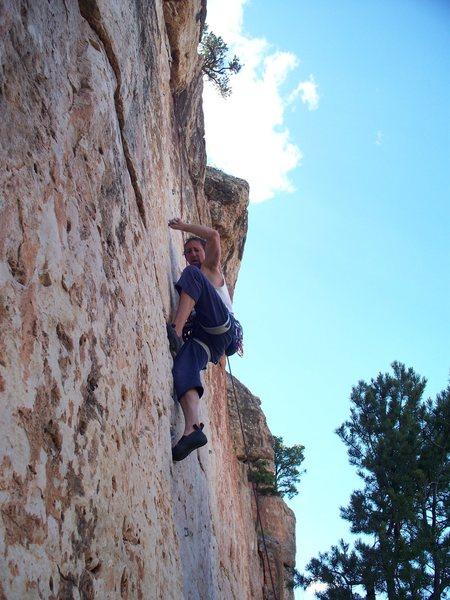 Monodoigt Intensity on Cactus Rose Limestone - Shelf Road- COLO