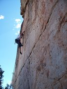 Rock Climbing Photo: Precision Footwork is Key on Cactus Rose Ten-D