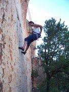 Rock Climbing Photo: Hang-Doggin in the Hulk Pants ... Everyone hang-do...