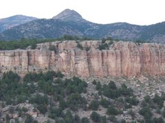 Rock Climbing Photo: Cactus Cliff Right - from The Bank Campground - Sh...