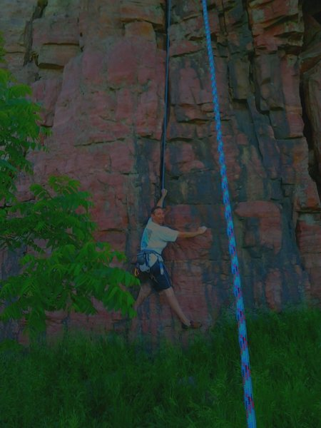 Blue Mounds SP SW-MN Clif TR on Easy Street 5.6+