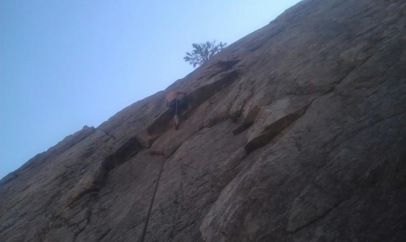 Climbing on Ed & Terry wall !!