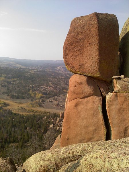 Rock Climbing Photo: View a few yards west of S & N.