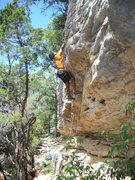 Rock Climbing Photo: Pulling roof