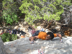 Rock Climbing Photo: face