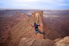 Rock Climbing Photo: flickin' castleton