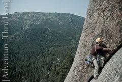 Rock Climbing Photo: Pitch 1 of Trail of Tears (5.9-).  patrickbetts.ze...