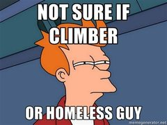 Rock Climbing Photo: hmm.
