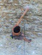 Rock Climbing Photo: Venasque France 7C+