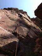 Rock Climbing Photo: Double Direct!