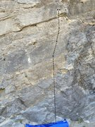 Rock Climbing Photo: Three bolts and two even chains for anchor. Two bo...
