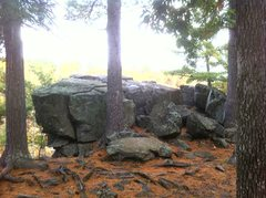 Rock Climbing Photo: The Picnic Area prow as you approach from the Sout...