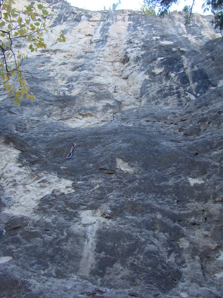 Electro-Chalk Therapy, 5.11c.<br> Crazy Technical climbing!