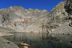 Rock Climbing Photo: Lower Spectacle Lake.
