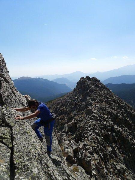 Rock Climbing Photo: Tony M. on Ace 1.