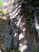 Rock Climbing Photo: End of Simeon Smile