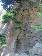 Rock Climbing Photo: Start of Simeon Smile