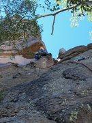 Rock Climbing Photo: Zac Warren on FA