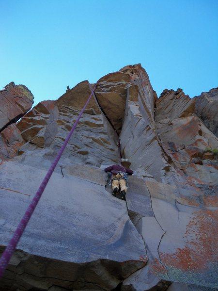 Rock Climbing Photo: More fun moves!