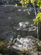 Rock Climbing Photo: This is where I head up