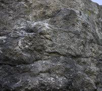 Rock Climbing Photo: A closer look at the starting boulder problem