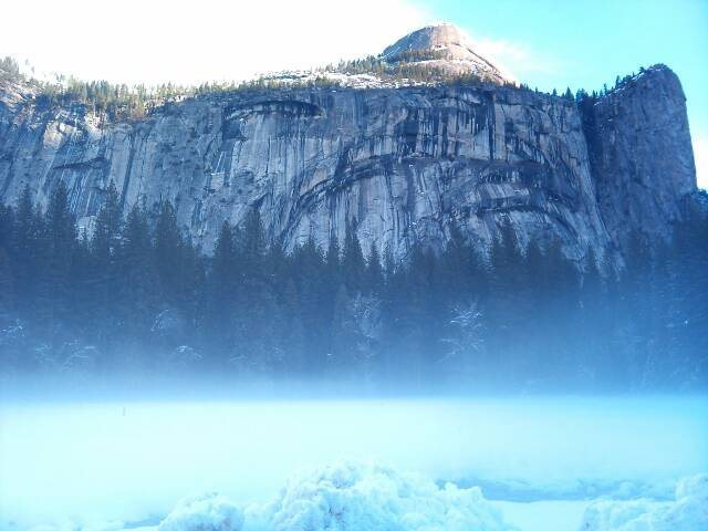 Rock Climbing Photo: royal arches in winter