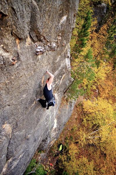 Rock Climbing Photo: weird stuff