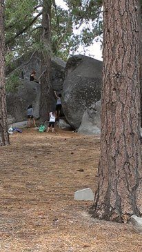 Rock Climbing Photo: View from campsite 22