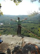 Rock Climbing Photo: on top of Clip-A-Dee-Doo-Dah