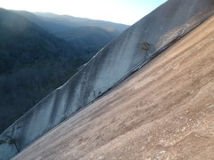Rock Climbing Photo: View of the Grea Arch at Stone Mountain