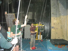 Rock Climbing Photo: Teaching climbing to middle schoolers with the HOu...