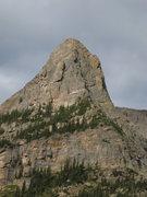Rock Climbing Photo: The east face of Little Matterhorn.