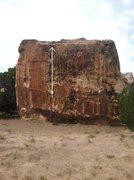 Rock Climbing Photo: Broken Corner beta.