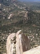 Rock Climbing Photo: Coming across the Flying Buttress after doing the ...
