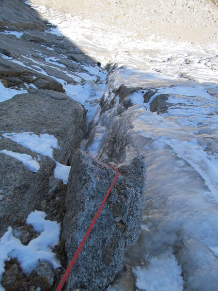 Rock Climbing Photo: 1st Apron.