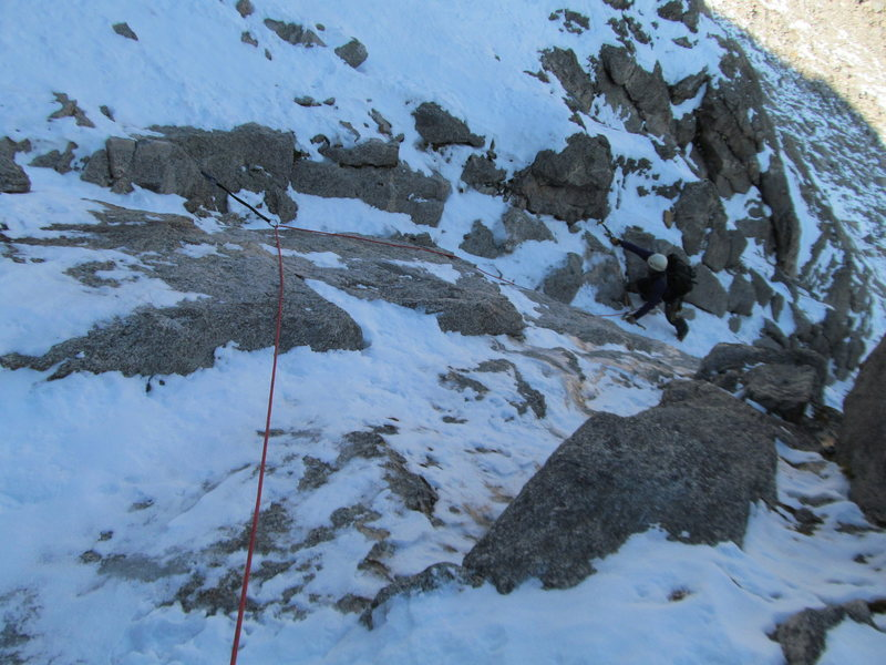 Rock Climbing Photo: West Buttress.