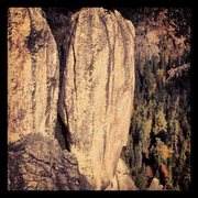 Rock Climbing Photo: View of Vertigo from Inner Outlet.