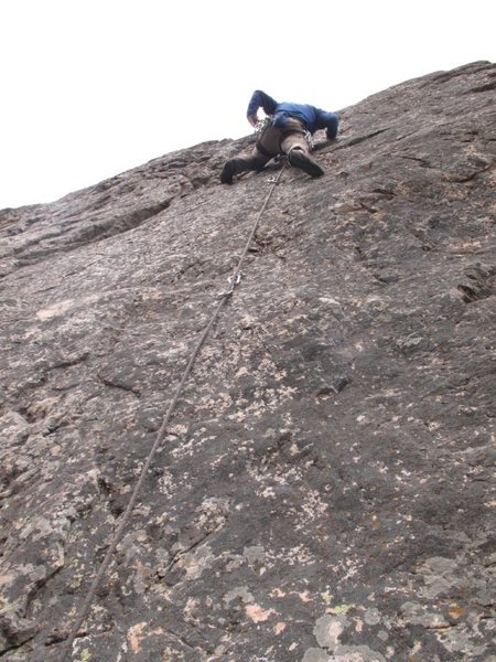 Best pitch of 5.9 in Ouray County?  YOU decide!