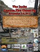 Rock Climbing Photo: Jacks Canyon Clean-up