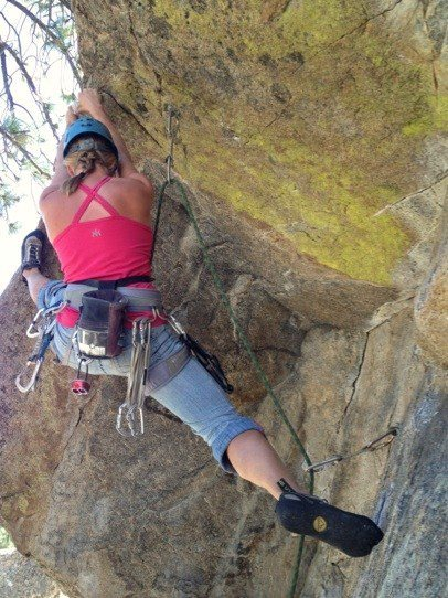 Rock Climbing Photo: Onsight Powder Keg, Holcomb valley Pinnacles