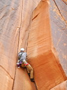 Rock Climbing Photo: Wavy Gravy crux