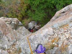 Rock Climbing Photo: starting on Steorts Ridge