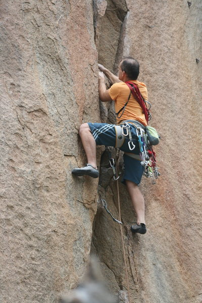 Rock Climbing Photo: Unknown Climber on 9-22-12