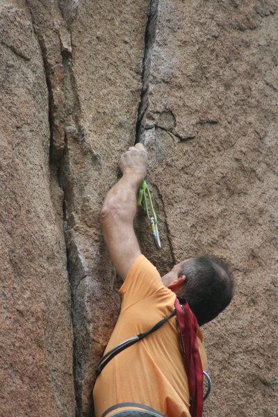 Rock Climbing Photo: Unknown Climber on 9-22-12