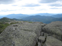 Rock Climbing Photo: Summit of Algonquin toward Wallface/Indianpass