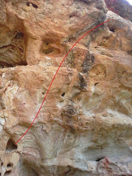 Rock Climbing Photo: V3.