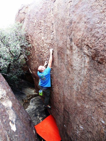 Rock Climbing Photo: Gums