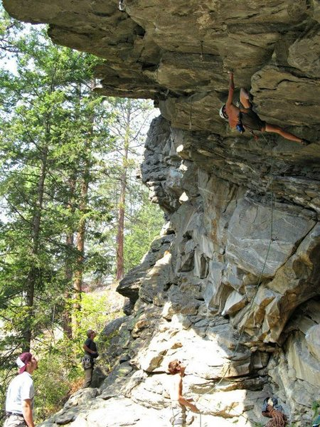 Rock Climbing Photo: Clubfoot 12c