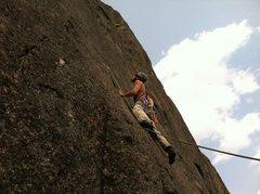 Rock Climbing Photo: Elk Rock, MT