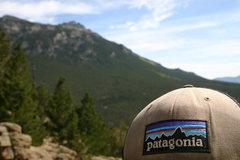 Rock Climbing Photo: i love my patagonia hats :)